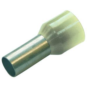 Haupa Aderendhülse isoliert 10 mm² - L 12 mm elfenbein