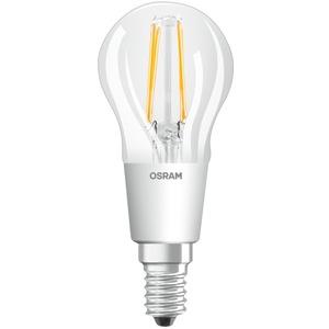LED Tropfenlampe PARATHOM CL P40 adv. 4,5W 827 E14 470lm GLOWdimm matt