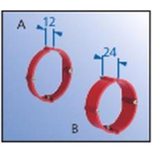 Putzausgleich-Ring Ø 60 mm h=24 mm Schraubabstand 60 mm mit Geräteschrauben