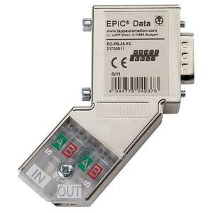Epic Data Profibus Steckverb.mit 90° Kabelabgang ED-PB-90-PG-FC