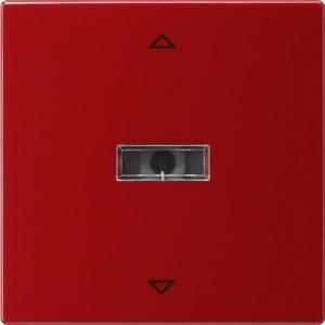 Aufsatz Jalousie für S-Color rot