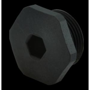 Verschlusskappe IP54 Polyamid SCHWARZ metrisch M16 x 1,5