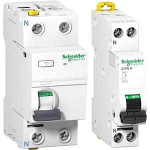 Schneider Electric Set bestehend aus Leitungsschutzschalter und FI Schutzschalter Typ A Bauart G
