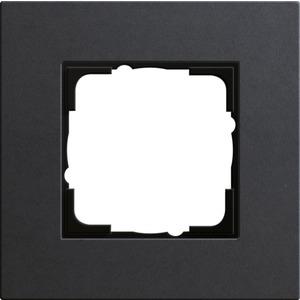 1-fach Abdeckrahmen für Esprit Linoleum-Multiplex anthrazit