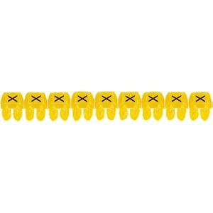 """CAB 3 Kabelkennzeichnung 1,5 - 2,5 mm² Buchstabe """"X"""""""