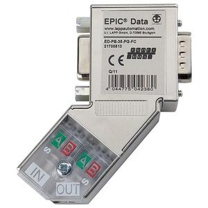 Epic Data Profibus Steckverb.mit 35° Kabelabgang ED-PB-35-PG-FC