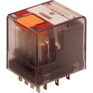 Miniatur-Relais 4 Wechsler 6 A 12 V AC Serie PT