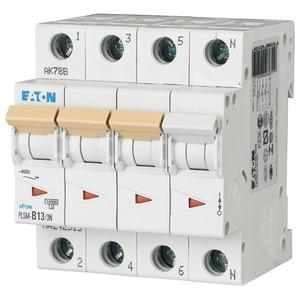 Eaton Leitungsschutzschalter 13A 3-polig+N D-Char