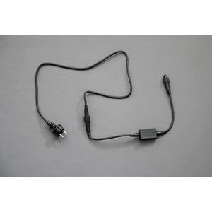 QuickFix LED Zuleitung EU 1,5m schwarzes Kabel