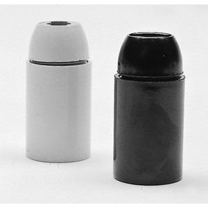 Electroplast Lampenfassung 140/04 Kunststoff E14 Fassung glatt schwarz