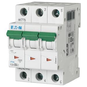 Eaton Leitungsschutzschalter 6A 3-polig D-Char