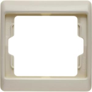 Abdeckrahmen 1-fach Arsys - weiß/ glänzend