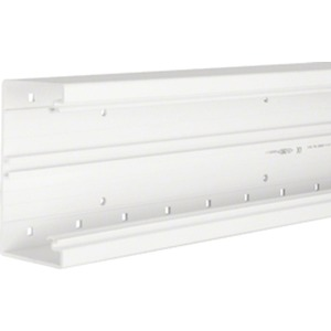Hager Brüstungskanal-Unterteil PVC 70x130 mm Cremeweiß BR7013019001