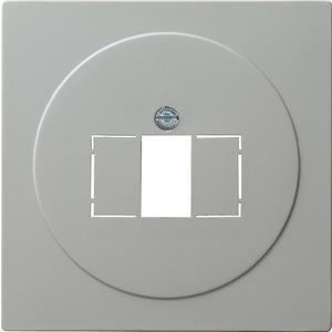 Abdeckung TAE+Stereo+USB für S-Color grau
