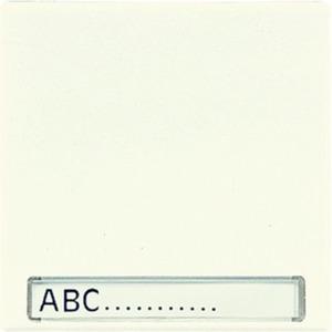 Wippe Schriftfeld für Wippschalter Tastschalter und Taster BA 1-fach