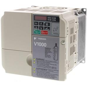 Frequenzumrichter V1000 4,0kW 17,5A 200V AC 3-phasig sensorl.vektorg.