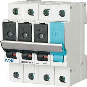 Sicherungs-Lasttrennschalter 16A 3p+N D01