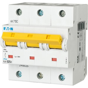 Eaton Leitungsschutzschalter 25A 3-polig C-Char