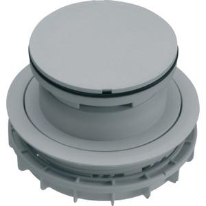 Leitungsauslass mit Tubus für Nasspflege >20mm aus PA lichtgrau