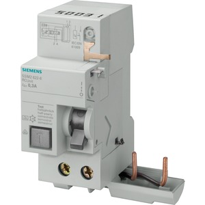 Fehlerstromsschutzschalter / FI - Block 2p Typ A 63 A 500 mA 230 V für 5SY