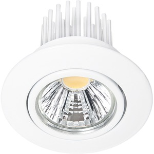 LED Einbaustrahler A 5068 S weiß 12W neutralweiß 38°