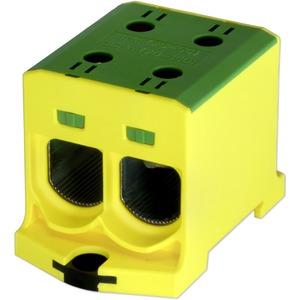 Kompaktaluklemme 1-pol. Cu/AL 25-150mm² 315/250 A 2/2 gelb-grün
