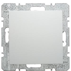 Blindverschluss mit Zentralstück S.1/B.1/B.3/B.7 Glas polarweiß