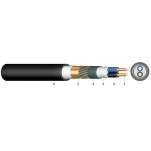 Halogenfreies Kabel geschirmt N2xCH 3x4 RE/4