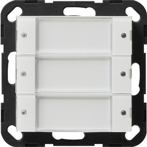 Tastsensor 2 3-fach 24V potentialfrei System 55 Transparent weiß