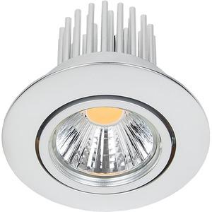 LED Einbaustrahler A 5068 S chrom-matt 12W neutralweiß 38°