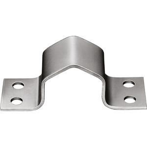 Mastschelle Stahl 4-Loch bis 50 mm
