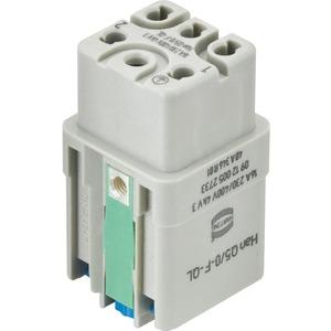 Kontakteinsatz Buchse Han Q Han-Quick Lock Kontaktanzahl 5/0 1 Baugröße 3 A