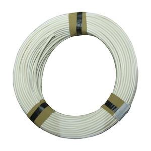 Weich PVC Isolierschlauch 5.0 mm x 0,6 mm weiß