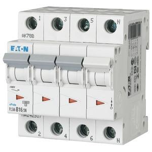 Eaton Leitungsschutzschalter 16A 3-polig+N D-Char