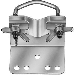 Mastfußschelle Stahl für Rohr-Ø 30 - 60 mm mit integrierter Kralle
