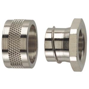 Metallverschraubung Einführungsbuchse Messing vernickelt SC16