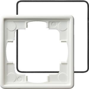 1-fach Abdeckrahmen für IP21 für S-Color reinweiß