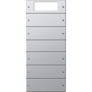 Wippenset 5-fach Plus für E22 Aluminium