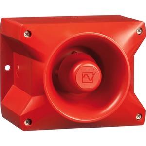 Schallgeber PA 10 ROT für kürzere und sichere Montagezeiten 110 dB(A)