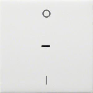 Wippe kallysto mit Kontrollfenster und Kennzeichnung 0/1 brillantweiß