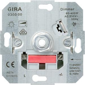 Dimmer Drehaus Glühlampe 60-400 W Einsatz