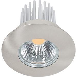 LED Einbaustrahler A 5068 S IP44 nickel-gebürstet 12W nw 38°