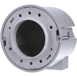 ThermoX Einbaugehäuse für Hohldecken DA Ø 68 mm Ø 120 x 90 mm