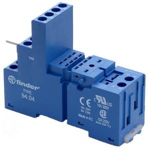 Relaisfassung Schraubklemmen für Timer- Relaistyp 85.04 blau Serie 94