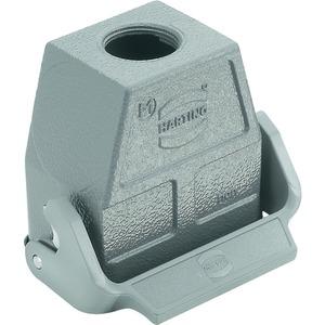 Kupplungsgehäuse 10 B Han B 1x M25 Hohe Bauform Längsbügel pulverbeschichtet