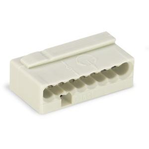 MICRO-Verbindungsdosenklemme 8-Leiter-Klemme 8-polig lichtgrau