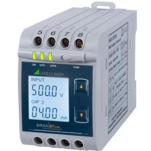 Uni - Messumformer Spannung mit LCD-Anzeige - 2 konf. analoge Ausgänge