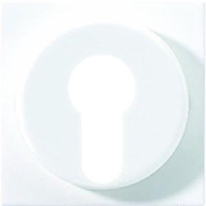 Jung Abdeckung für Schlüsselschalter 104.28 ... CD 104.18 WU ... cremeweiß