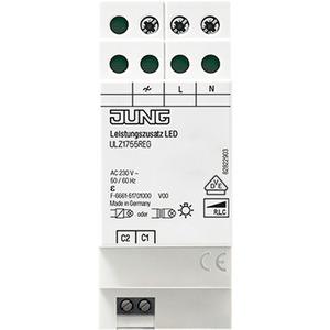 LeistungszusatzLED REG 2TE elektronischer Übertemperaturschutz 230V AC
