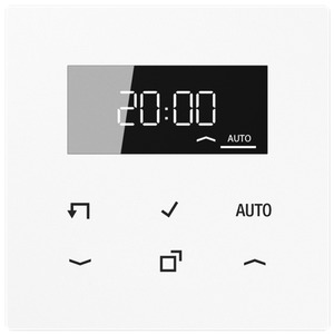 Timer Standard Display LS alpinweiß